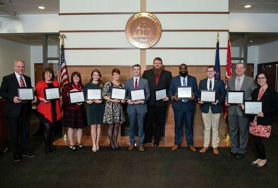 Graduates of SVSU's Henry Marsh Institute for Public Policy. (Photo provided)