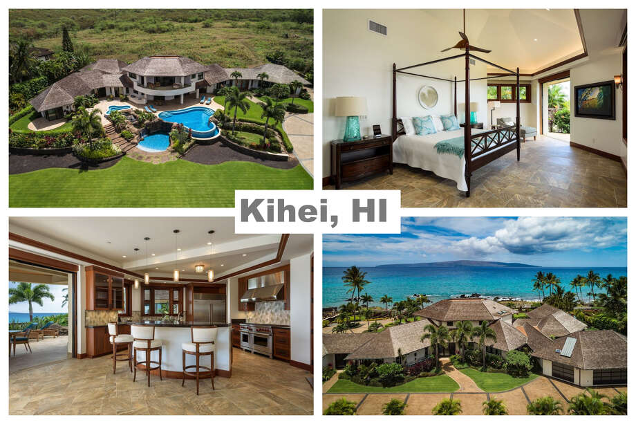 4 beds, 5 baths, 5,680 sqft, located in Kihei, HI., for an estimated $14,137,166. Photo: Zillow