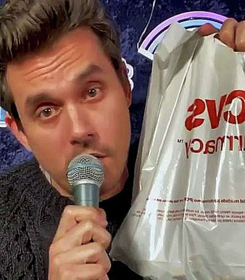Connecticut native John Mayer has written in what is likely the first holiday song about a CVS bag. Mayer performed the song in a video on Instagram with his very own CVS bag. Photo: Shay, Jim