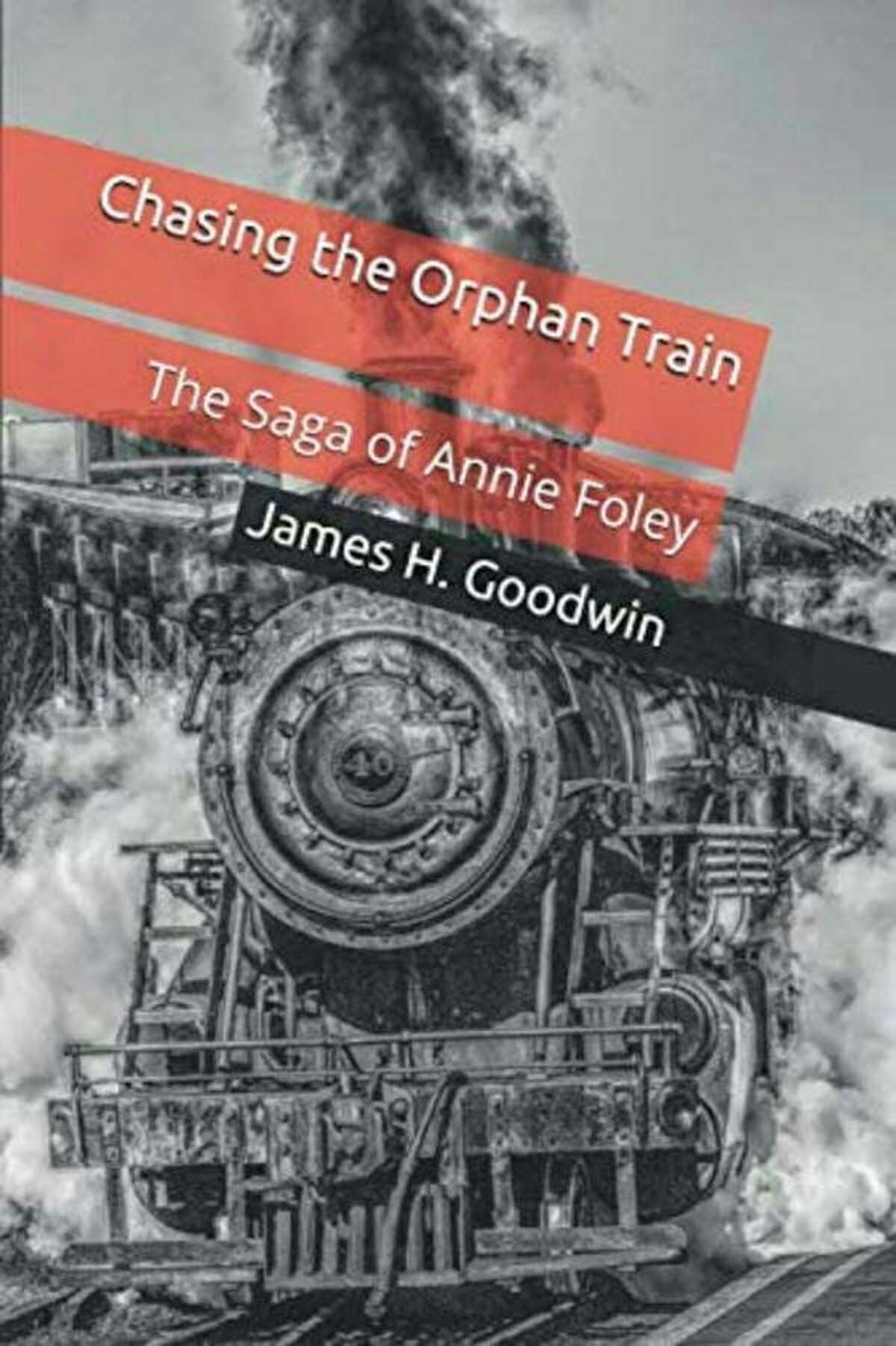 """Local author James H. Goodwin's new book, """"Chasing the Orphan Train,"""" is now availableatHappy Owl Bookstore in Manistee and through Amazon. (Courtesy photo)"""