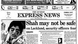 Dec. 9, 1979: Shah at Lackland