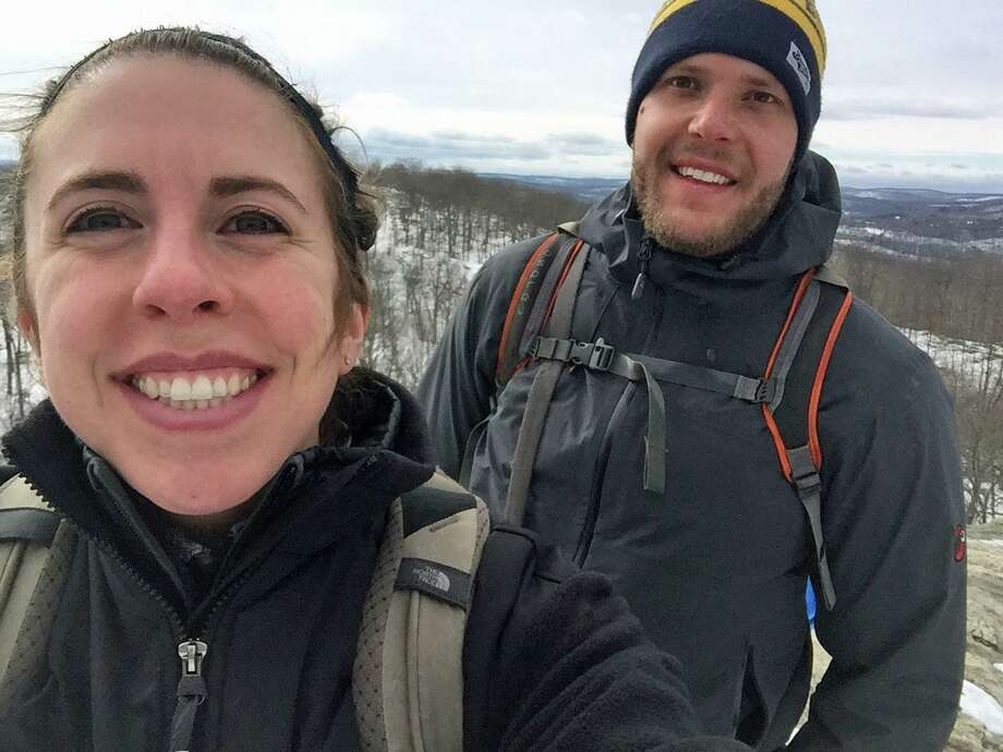 Jamie Pennella and Derek D'Andrea will climb the tallest free-standing mountain in the world on Valentine's Day to raise awareness and funding for cancer research. Bill Pennella, Penella's father, died from prostate cancer in June. Photo: Contributed / Contributed Photo / Greenwich Time contributed