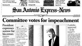 Dec. 12, 1998: Clinton impeached