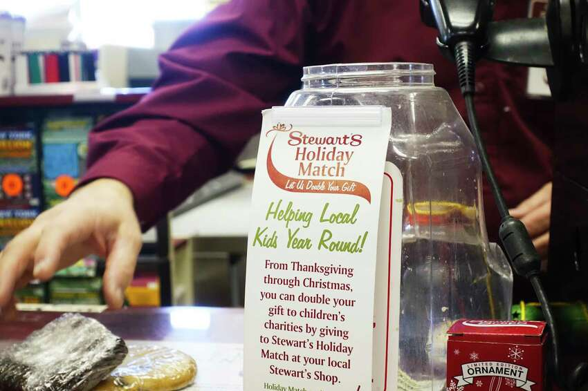 Coffee sales are down at Stewart's Shops but groceries and milk are on the increase as the chain's customers come to grips with the coronavirus. (Paul Buckowski/Times Union)