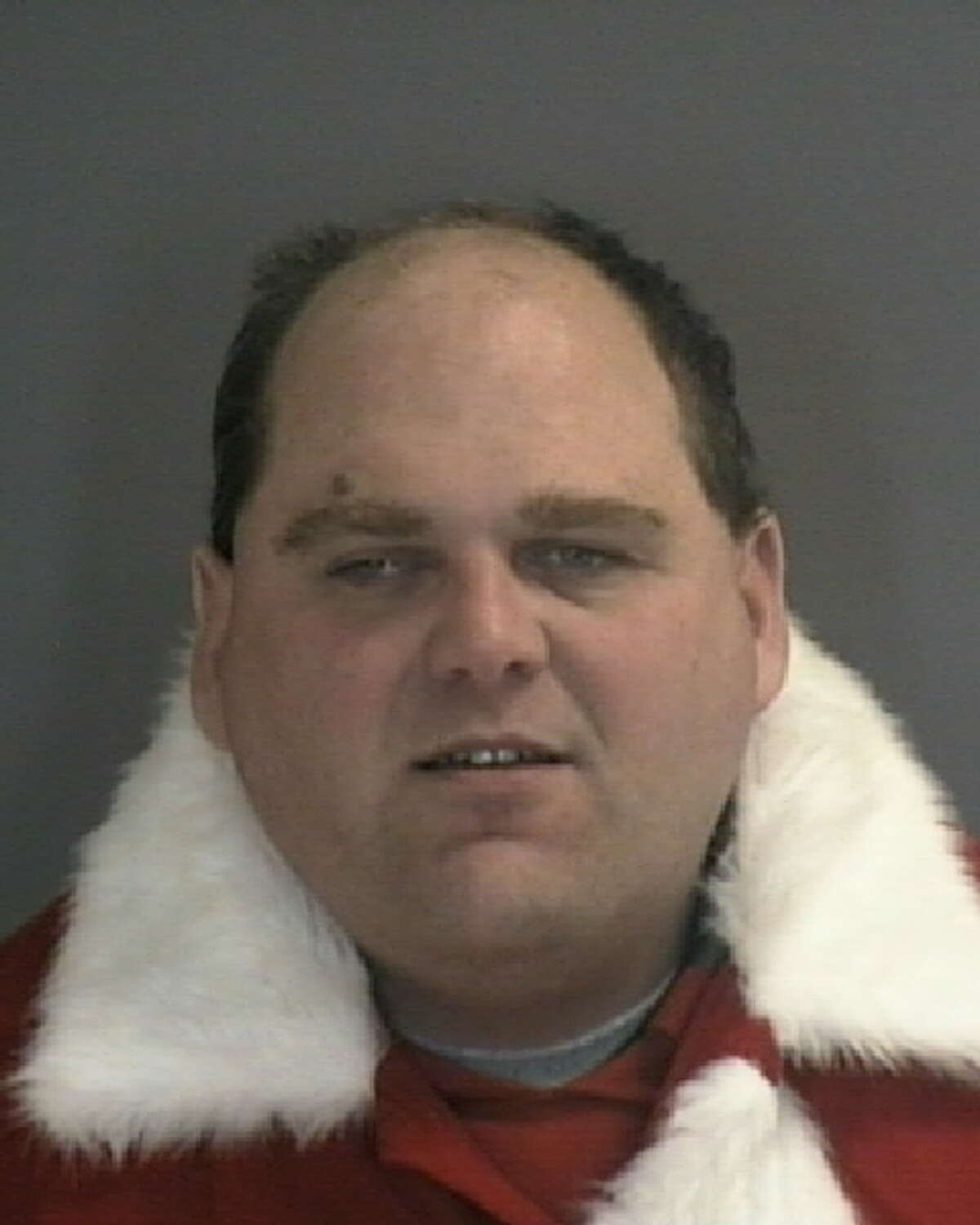 Edward Agrusti was taken into police custody in the parking lot of the Latham Price Chopper location while dressed as Santa Claus on Dec. 24, 2019. Colonie police say there was a warrant out for his arrest for soliciting a prostitute.