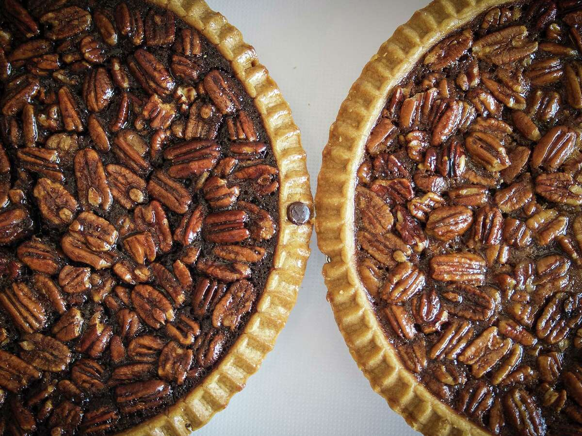 Even though Three Brothers Bakery faced some tough news in 2019, Co-Owner Janice Jucker said she is looking forward to a better 2020 and new decade. Here, their chocolate fudge pecan pie and classic pecan pie are some of their top sellers.