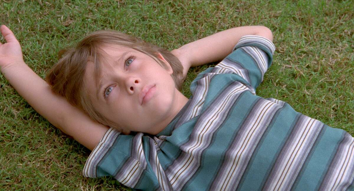 Boyhood (2014) This Academy Award-winning movie was directed by Houston native Richard Linklater. In this coming-of-age movie, Ethan Hawke plays Mason Evans Sr., father to young Mason Evans Jr., portrayed by Ellar Coltrane, a curious young boy on the verge of adolescence. The movie was filmed from 2001 to 2013 to depict an authentic transformation that shows Mason's changes during his most formative years. It's like