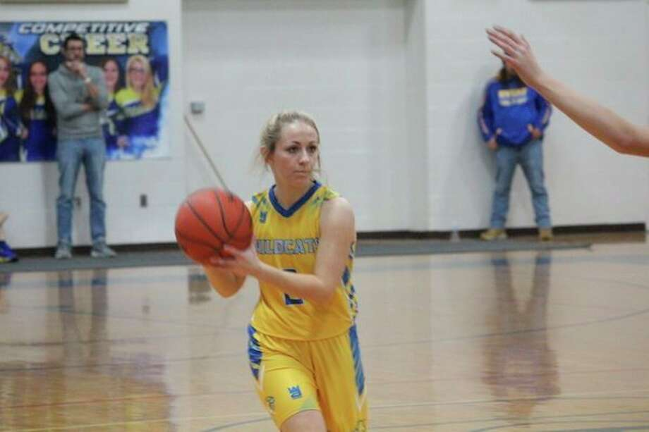Evart's Kaylee Ladd helped the Wildcats to the win against Chippewa Hills on Dec. 17. (Herald Review file photo)