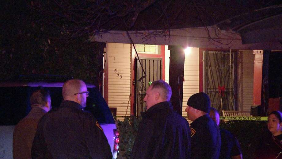 San Antonio police are investigating on the South Side after a woman was shot through her screen door. Photo: Ken Branca