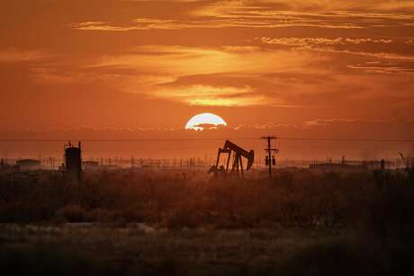 A pump jack in the Permian Basin in Texas, Nov. 5, 2019.