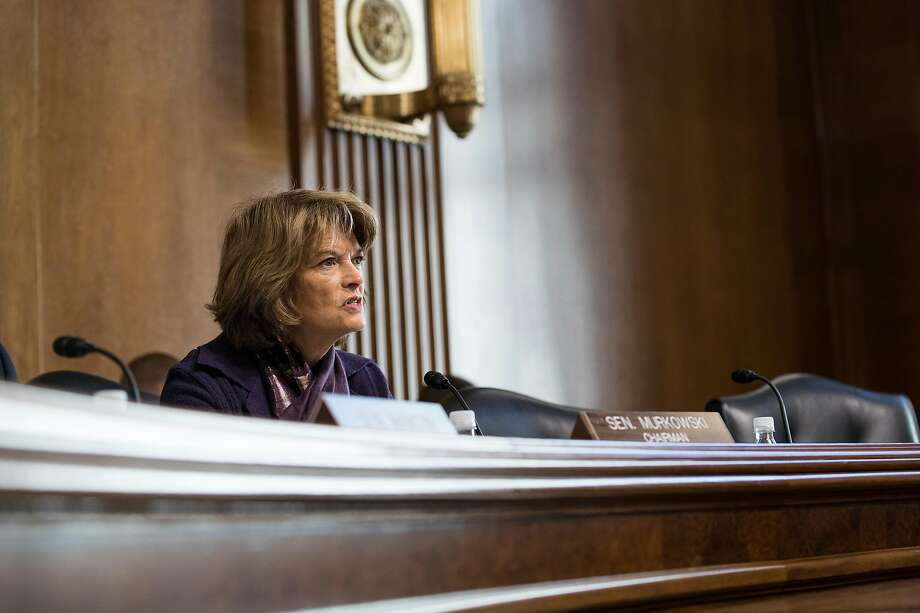 Sen. Lisa Murkowski, R-Alaska, says she is troubled by Sen. Mitch McConnell's comments that he will work in concert with the White House counsel. Photo: Sarah Silbiger / New York Times
