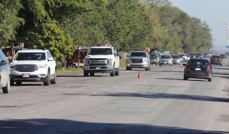 Las carreteras de Tamaulipas registraron un intenso flujo automovilístico de connacionales que viajan de distintos puntos de Estados Unidos para visitar a sus familiares en México. Photo: Foto De Cortesía /Gobierno Del Estado De Tamaulipas