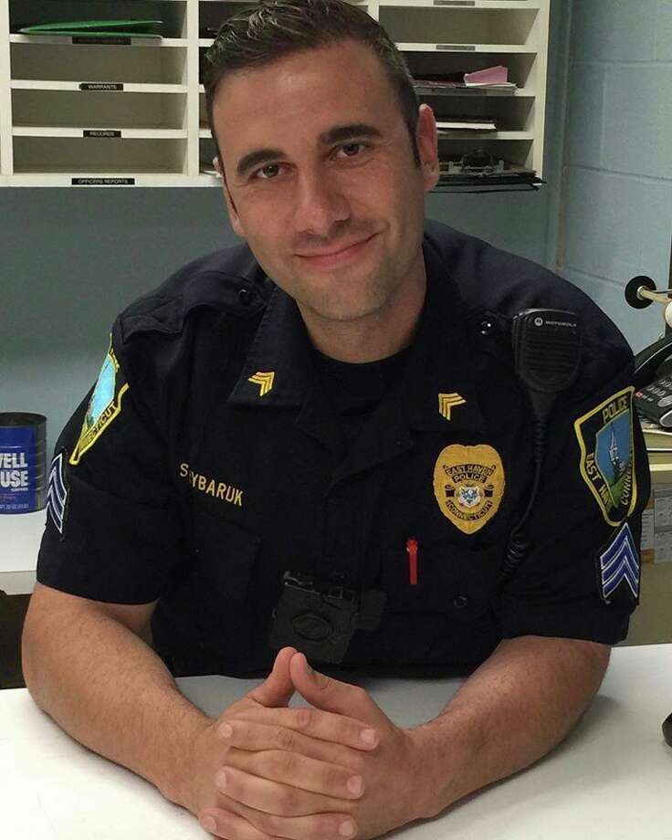 Sgt. Anthony Rybaruk Photo: East Haven Police Department