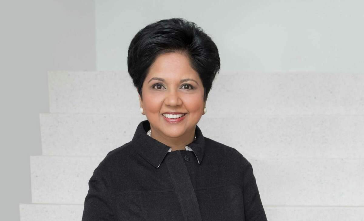 Indra Nooyi, former CEO and chairman of PepsiCo and now an Amazon board member, will be one of the speakers during the online Greenwich Economic Forum set for Nov. 9-11, 2020.