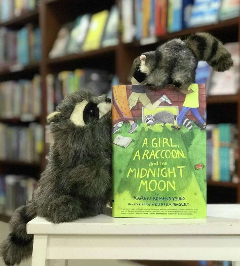 "Bethel's Byrd's Books is hosting a special reception for Connecticut author Karen Romano Young's new book, ""A Girl, A Raccoon, and the Midnight Moon,"" on Jan. 12. Photo: Byrd's Books / Contributed Photo"