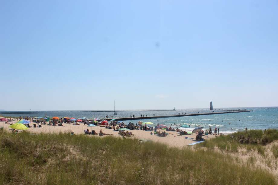 The City of Frankfort got a $225,100 Natural Resources Trust Fund grant to build a bathroom facility on the Lake Michigan Beach. Photo: File Photo