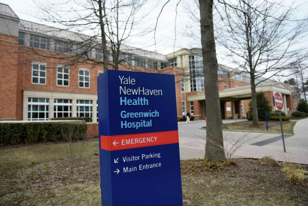 Greenwich Hospital, part of the Yale New Haven Health network, in Greenwich, Conn., photographed on Monday, March 25, 2019.