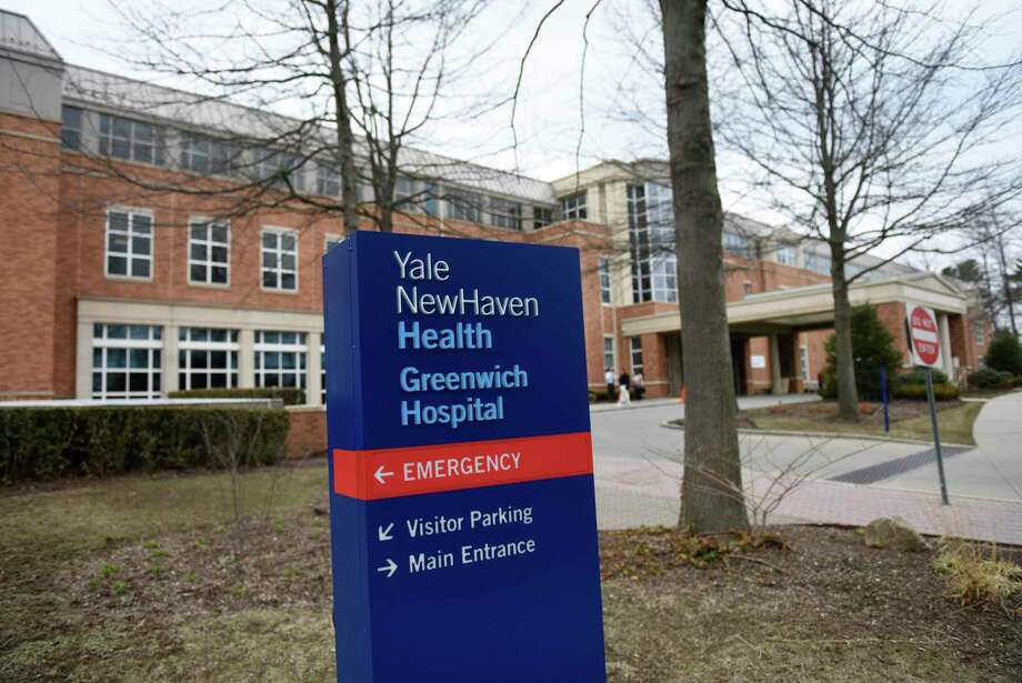 Greenwich Hospital, part of the Yale New Haven Health network, in Greenwich, Conn., photographed on Monday, March 25, 2019. Photo: Tyler Sizemore / Hearst Connecticut Media / Greenwich Time