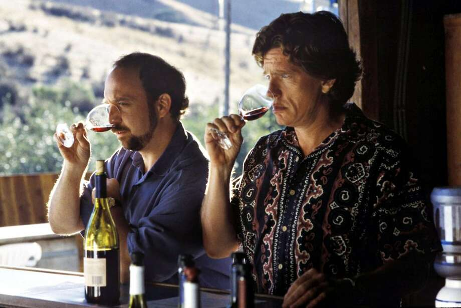 "Paul Giamatti (left) and Thomas Haden Church in ""Sideways,"" which is set in Wine Country. The Chronicle's wine critic took deep dives into the history of California's Wine Country this year. Photo: Fox Searchlight Pictures 2004"