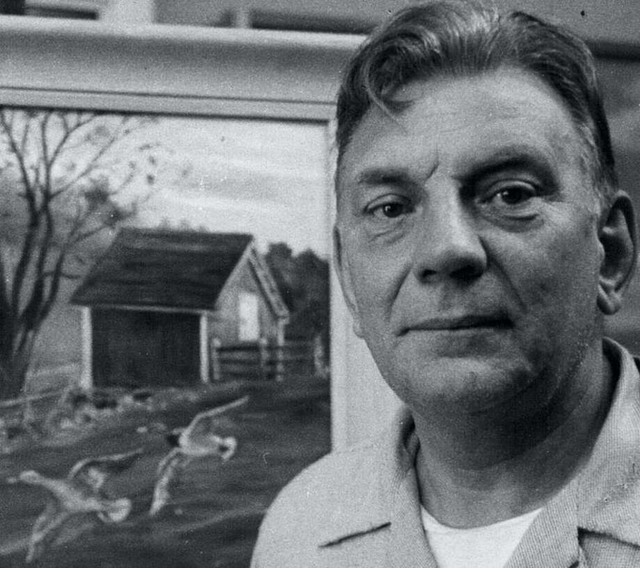 Peter Wick at Mr. McKeon's Barn in 1959. Photo: Contributed Photo