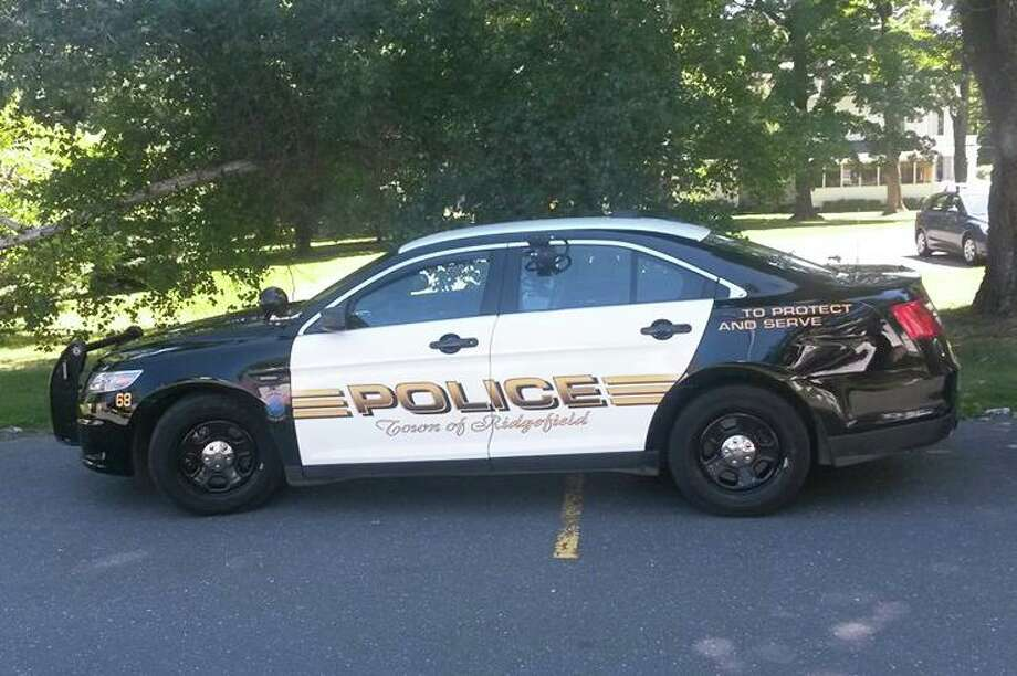 A parked Ridgefield police car. Photo: Ridgefield Police Department / Contributed Photo