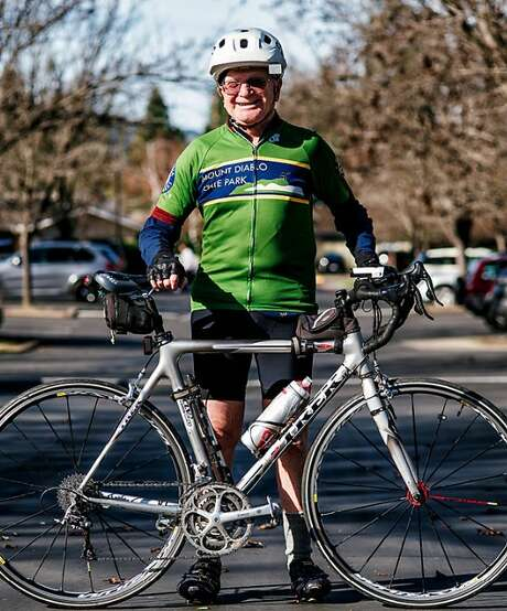 Joe Shami, 85, completed his 600th week in a row of cycling to the Mount Diablo summit