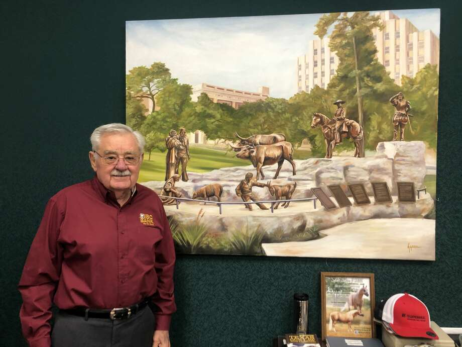 Renato Ramirez, who led the charge to bring IBC Bank to several pockets of rural South Texas, will be retiring as president of their Zapata branch Dec. 31. However this octogenarian banker and champion of Tejano representation will not be slowing down much. Photo: Julia Wallace/Laredo Morning Times