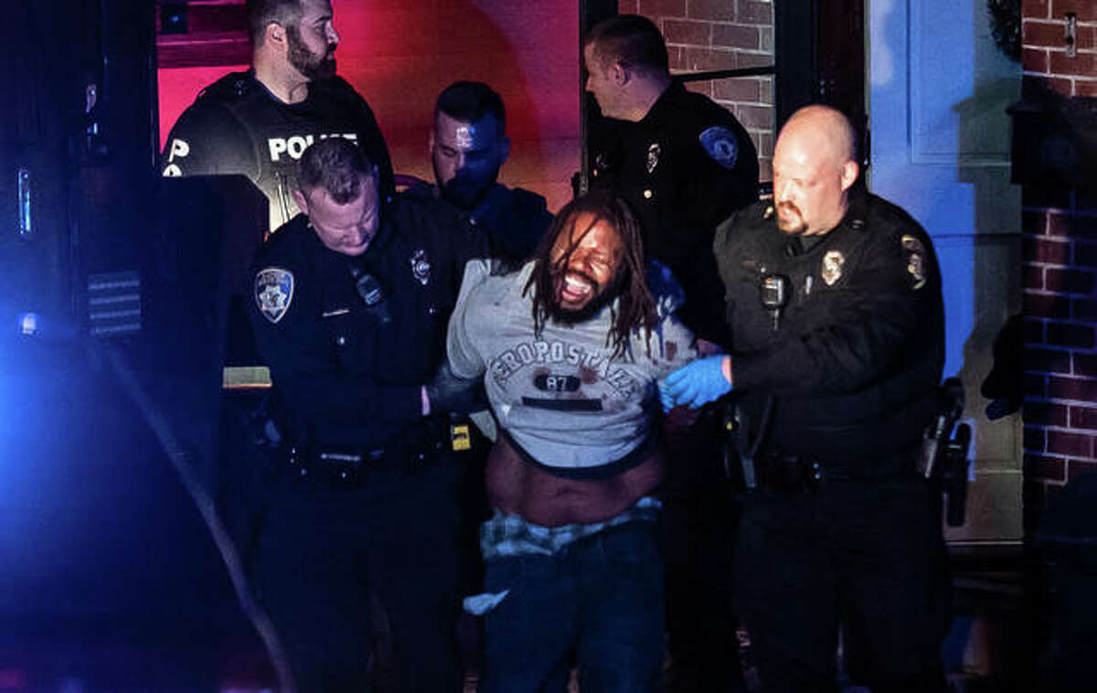 A man with a firearm kept himself holed up for more than two hours before his eventual arrest. No information has been released on the man.