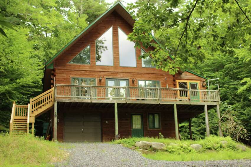 Lakeside in Corinth, this house overlooking the Great Sacandaga Lake was HOTW on March 31, 2019.