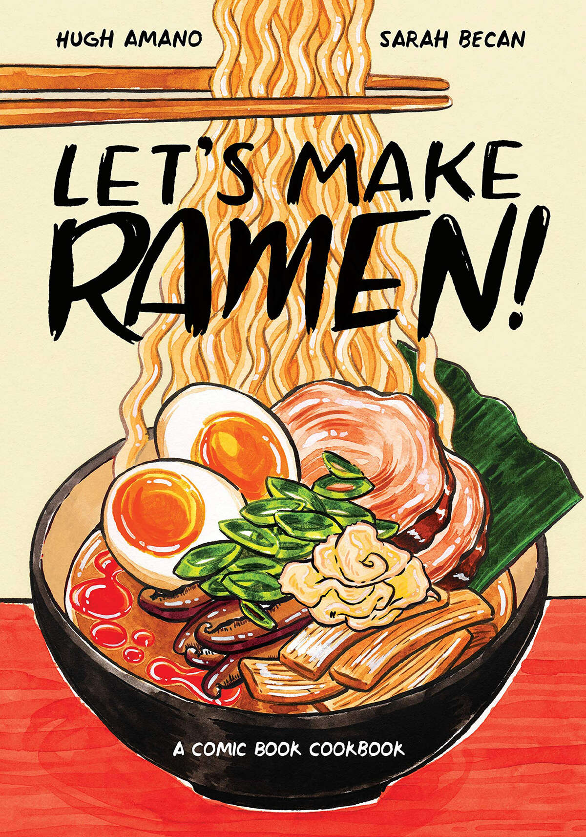 You'll find lots of recipes in this comic book cookbook by Hugh Amano and illustrator Sarah Becan, but the format really comes in handy when explaining the vast and often confusing world of ramen. Even if you never make your own ramen, you'll better understand what goes into a great bowl. -- Nick Kindelsperger (Courtesy Amazon/TNS)