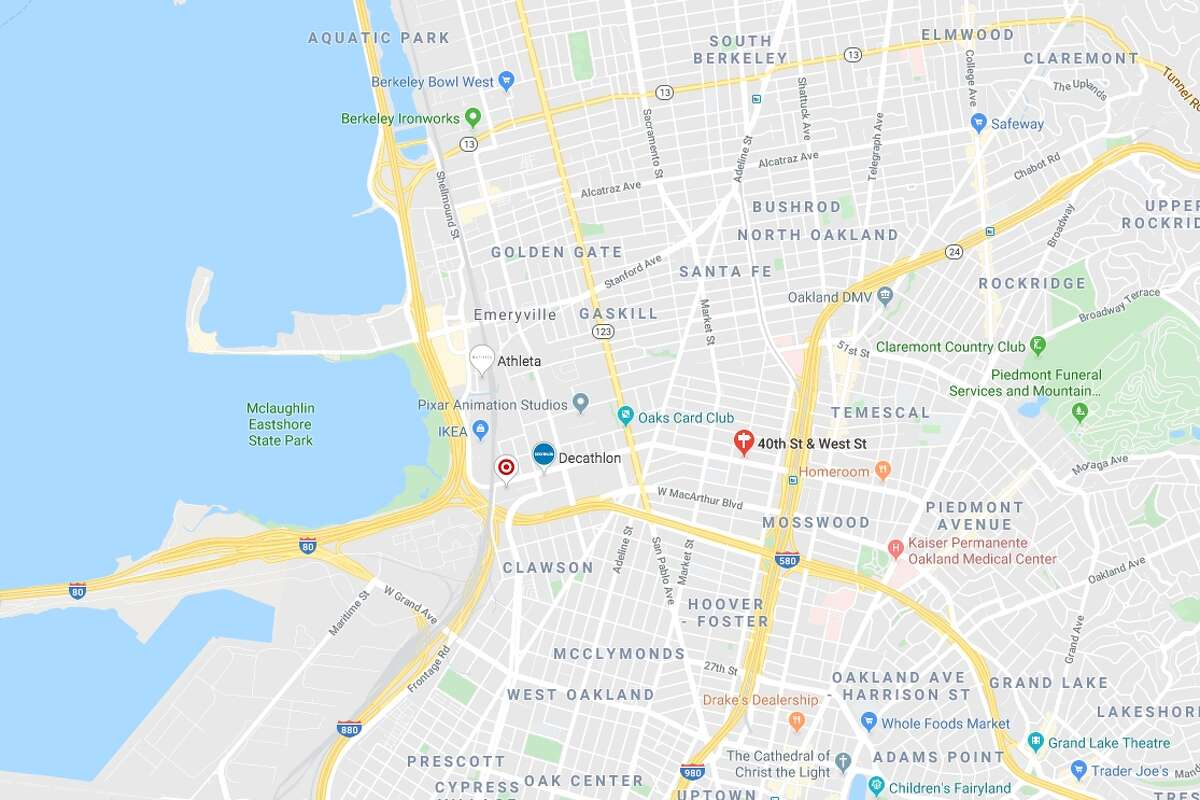 A fire broke out at 2:30 a.m. at an Oaklandwarehouse on West Street between 40th and MacArthur Boulevard, near the MacAurthur BART station, on Friday morning.