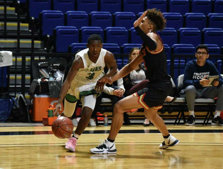 Spring senior guard Kylan Brown-Webster (3) and the Lions participated in the Cy-Hoops Invitational, Dec. 12-14, in preseason as part of preparation for district. Photo: CFISD