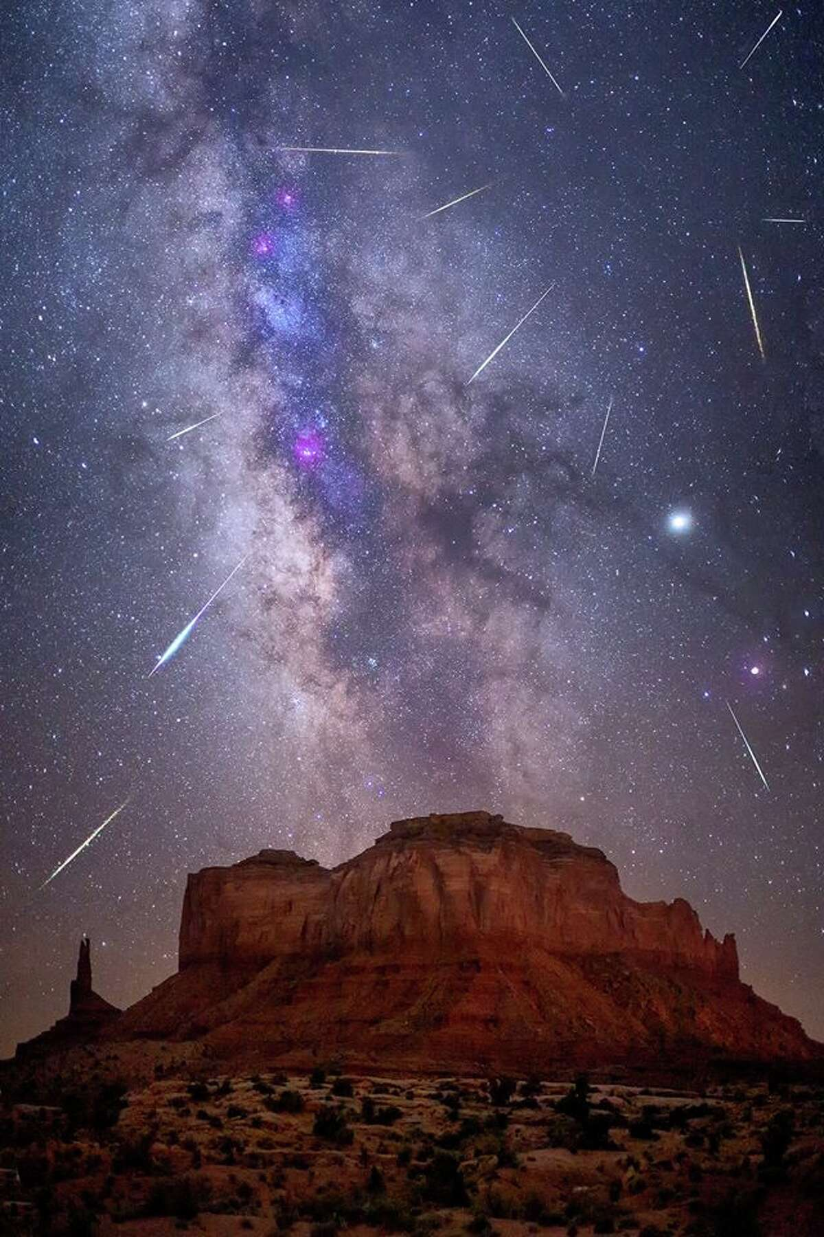 Perseid meteor shower When: Aug. 12-13 The Perseid meteor shower is regularly one of the top three meteor showers of the year, and the 2020 showing in mid-August will be much better than the one from 2019.