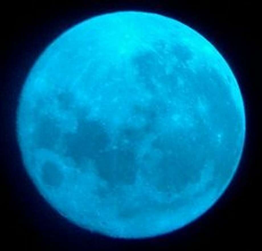 Blue moon to glow in Halloween sky  When: Oct. 31  Young masqueraders heading out to collect candy in their neighborhoods on Halloween will do so under the light of a blue moon that will rise on the final night of the month.  Blue moons are uncommon, rising once every two or three years, but a blue moon on Halloween is very rare. After the blue moon on Oct. 31, 2020, trick-or-treaters will need to wait until 2039 to see the next blue moon on Halloween. Photo: NASA.GOV