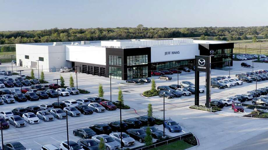 Jeff Haas Mazda's new 60,000-square-foot facility brings all operations under one roof. It's now the largest Mazda dealership in the nation.