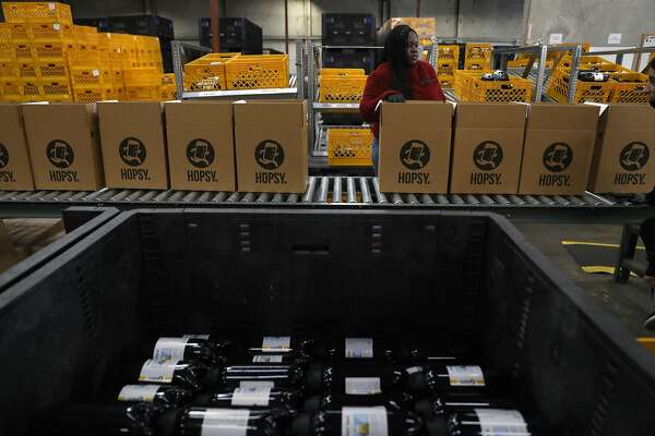 Bring on the bubbly: Online booze is booming