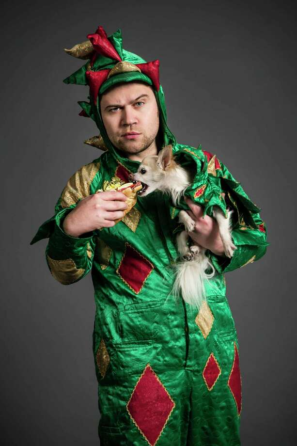 Piff the Magic Dragon, who sold out two shows at The Playhouse in 2015, and his chihuahua sidekick Mr. Piffles, will be at The Ridgefield Playhouse for two shows of magic tricks and comedy on Jan. 18. Photo: Christopher DeVargas / Contributed Photo / 2013