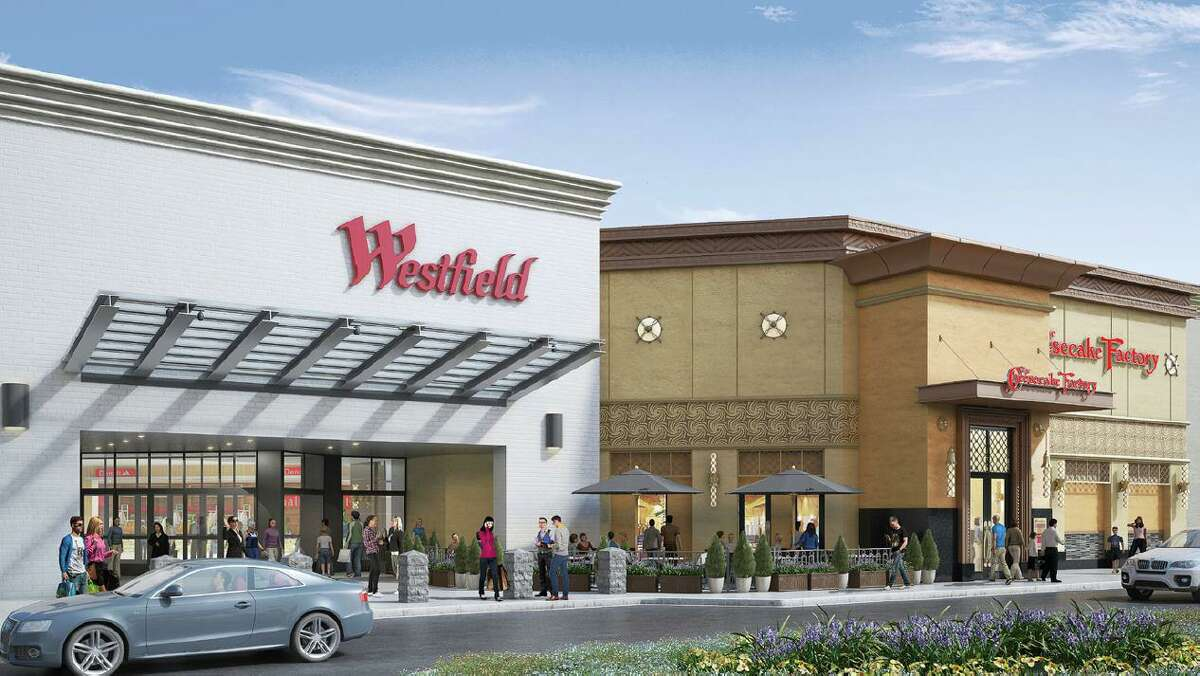 The Westfield Mall in Trumbull