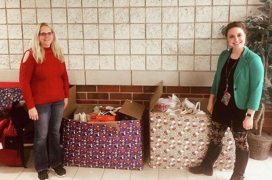 This year's Scouting for Food drive benefited Project Starburst,a nonprofit food bank which serves about 300 families each month in Mecosta and Osceola counties.(Courtesy photo)