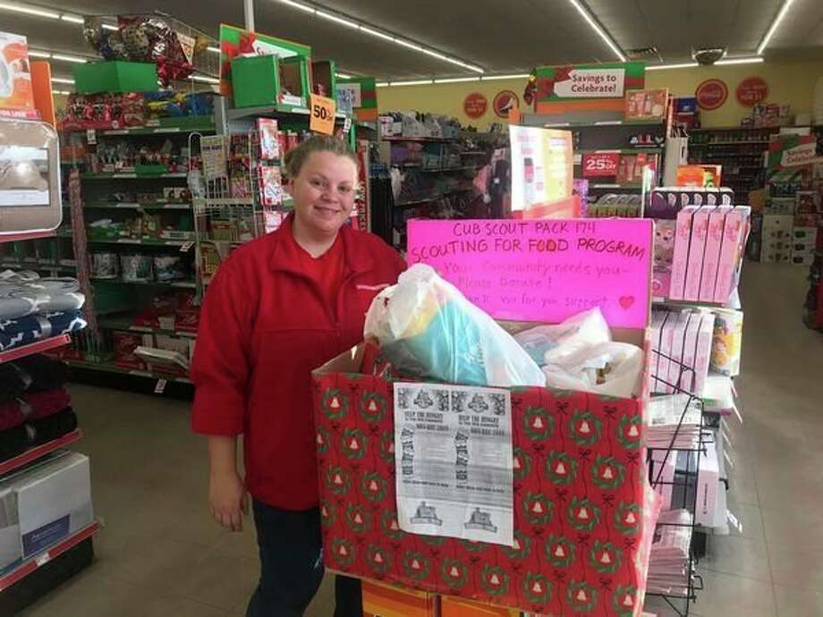 Several businesses and other entities in Mecosta and Osceola counties set up collection boxes for people to drop off a variety of nonperishable food items. (Courtesy photo)