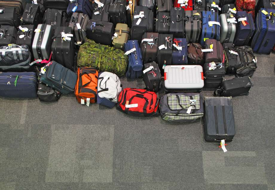 FILE — Lost or delayed luggage can pile up at an airport. Photo: Luoman/Getty Images