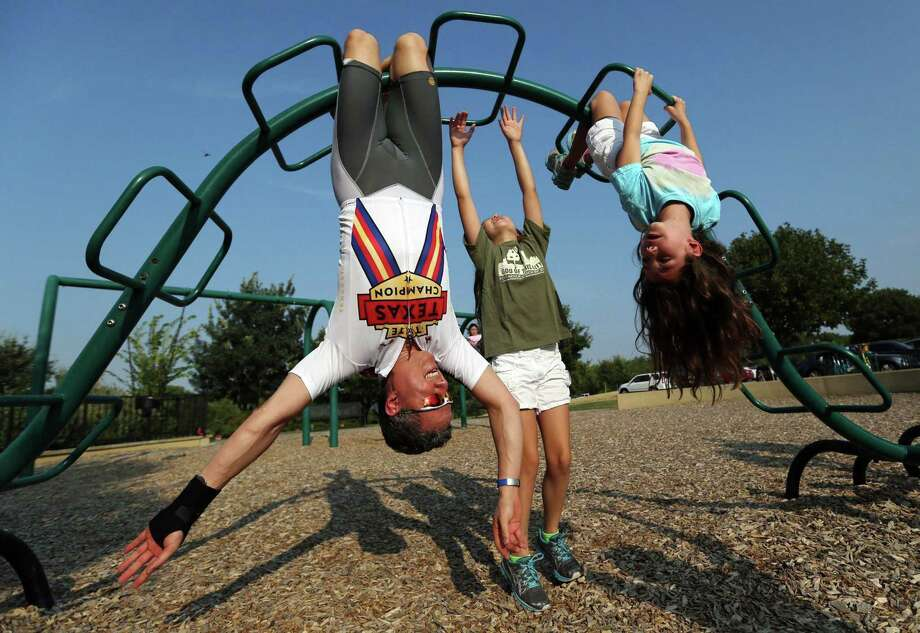 To get your family moving, be enthusiastic about exercise. Photo: Ricky Moon, MBR / McClatchy-Tribune News Service / Dallas Morning News