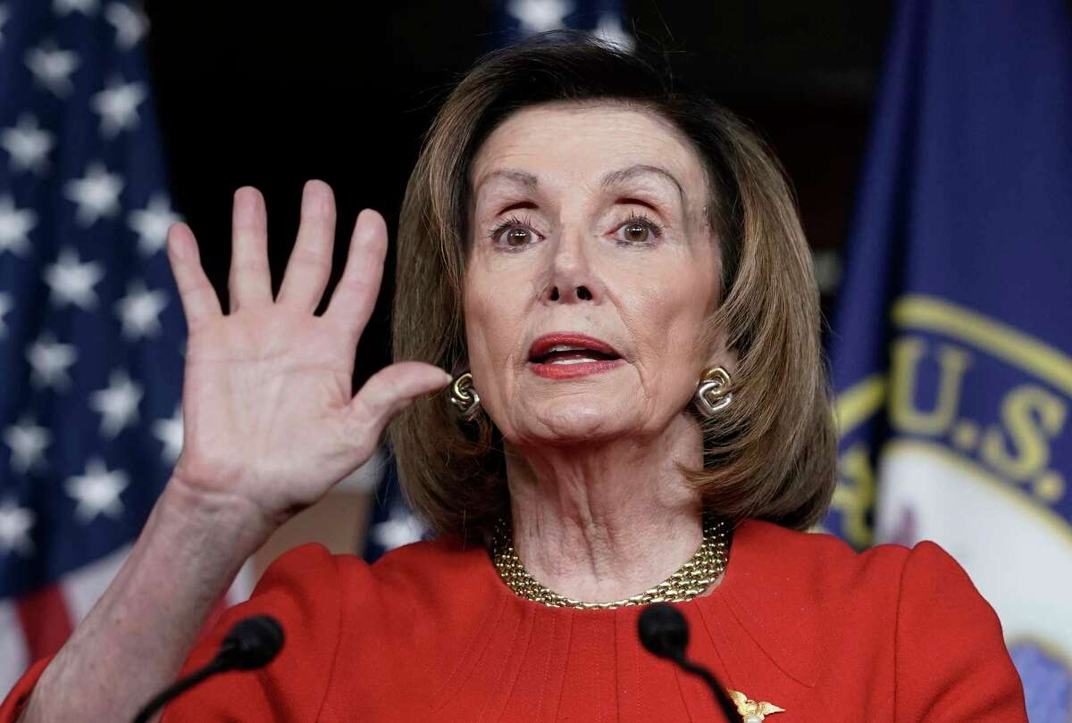 A reader suggests House Speaker Nancy Pelosi is pursuing a bit of her own quid pro quo.