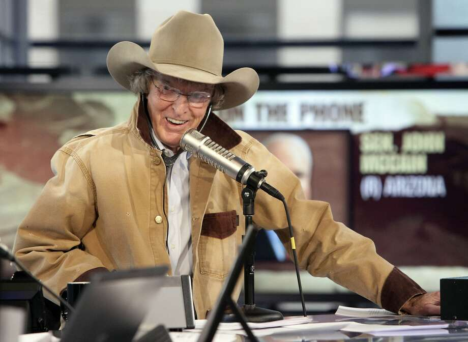 Radio personality Don Imus once made the list of Time magazine's 25 most influential Americans. Photo: Richard Drew / Associated Press