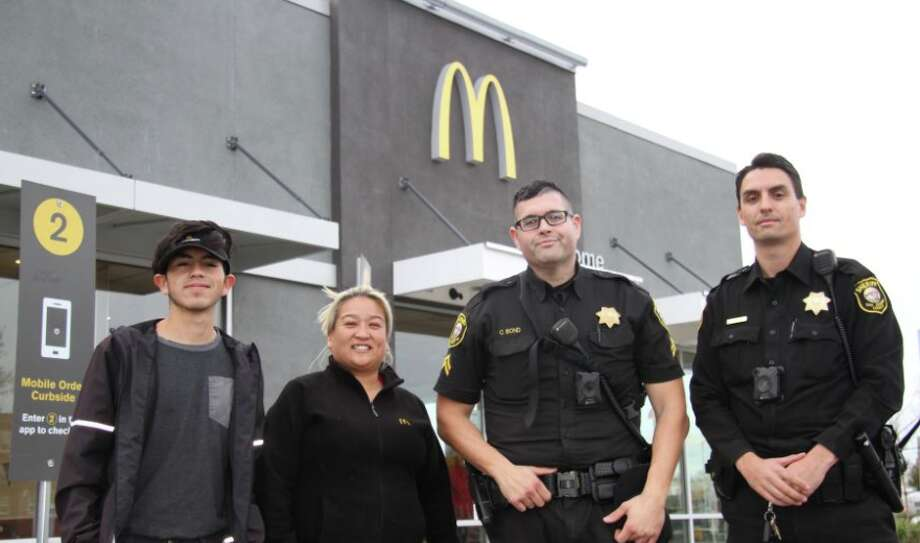 The San Joaquin County Sheriff's Office credited McDonald's employees with saving a woman from her alleged abuser. Photo: San Joaquin County Sheriff's Office