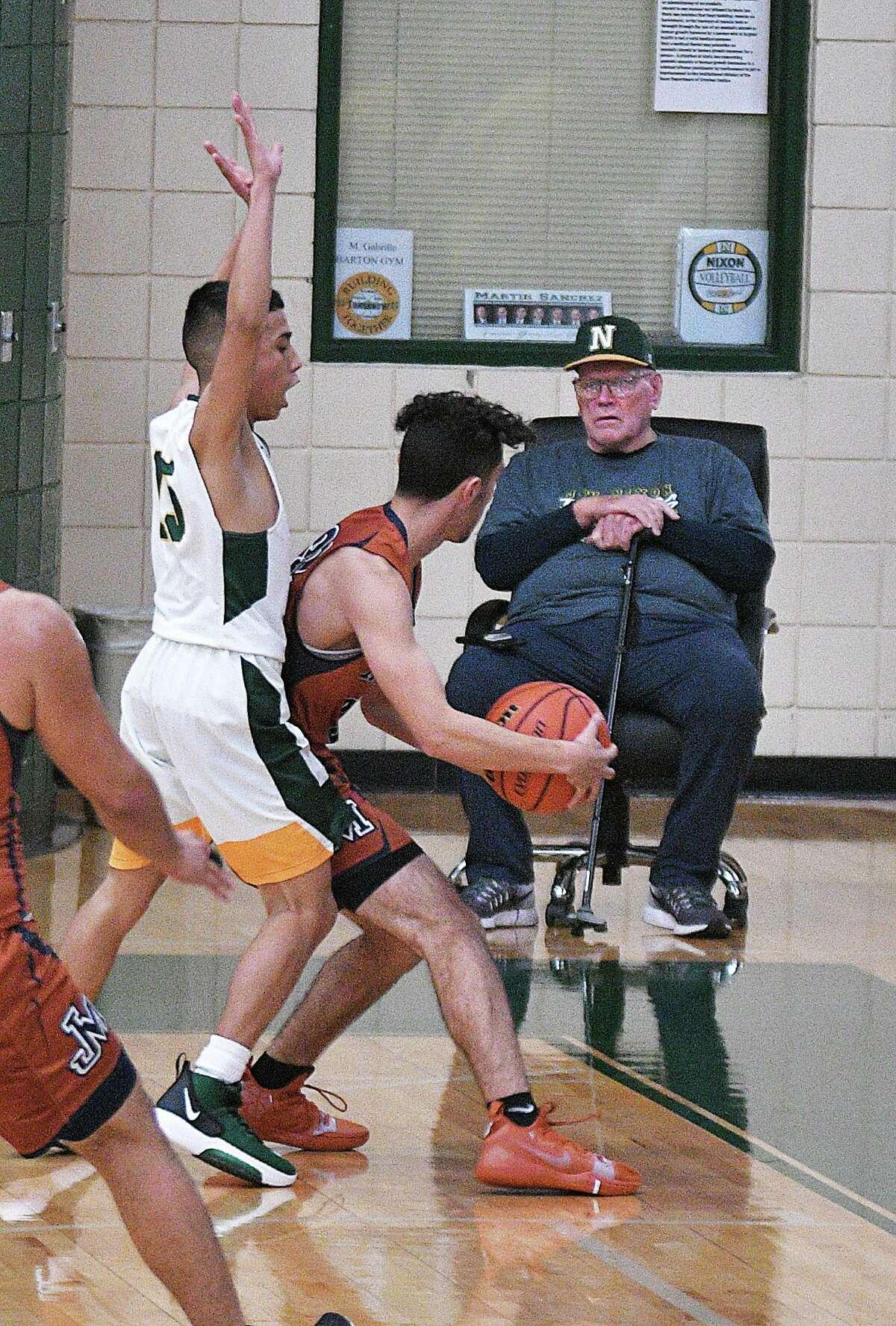 Former LISD and UISD head basketball coach Bill Groogan.