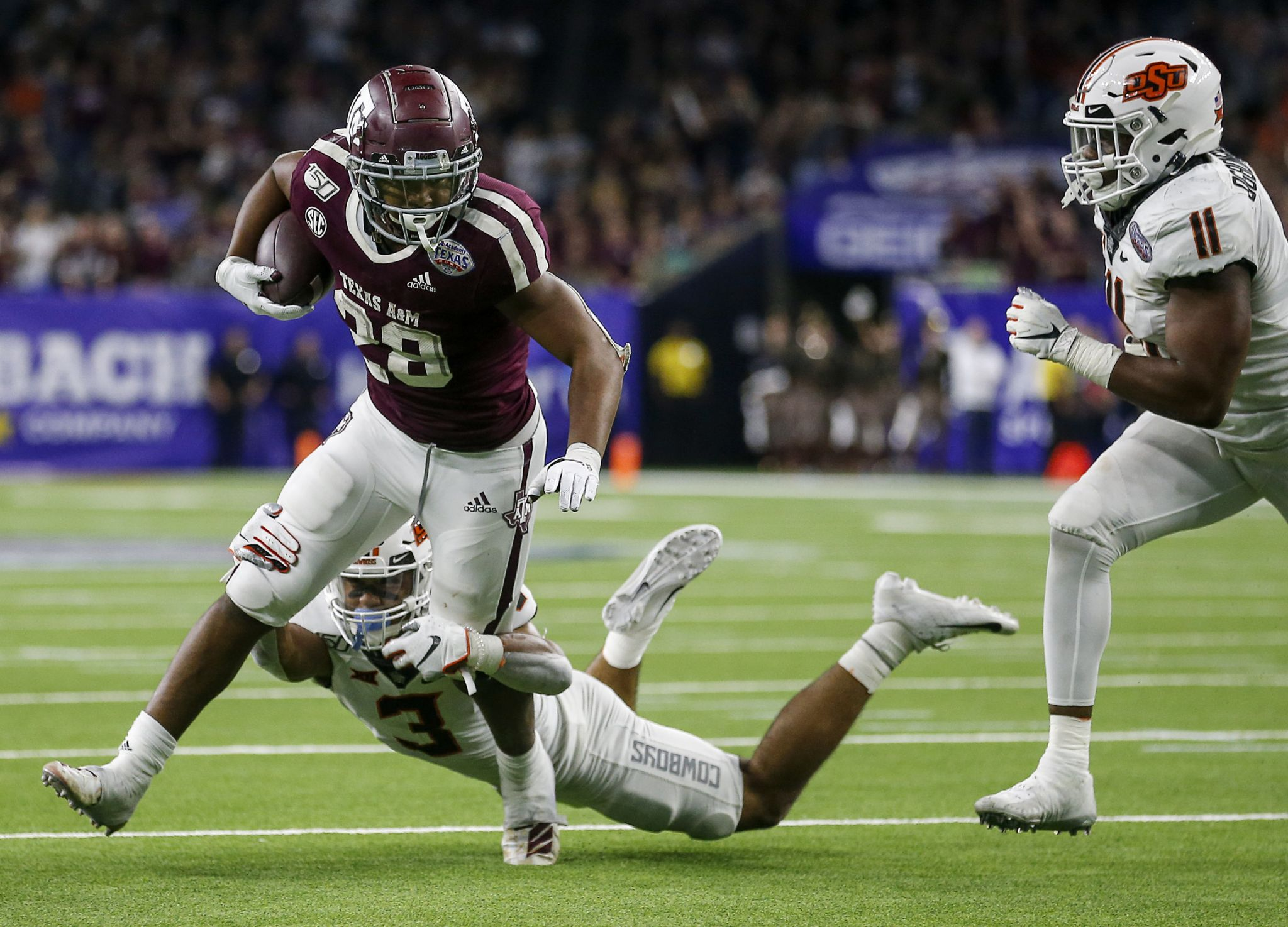 2020 Texas A M Football Status Report Running Backs Houstonchronicle Com