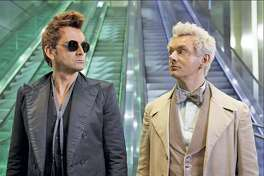 """""""Good Omens"""" is available on Amazon."""
