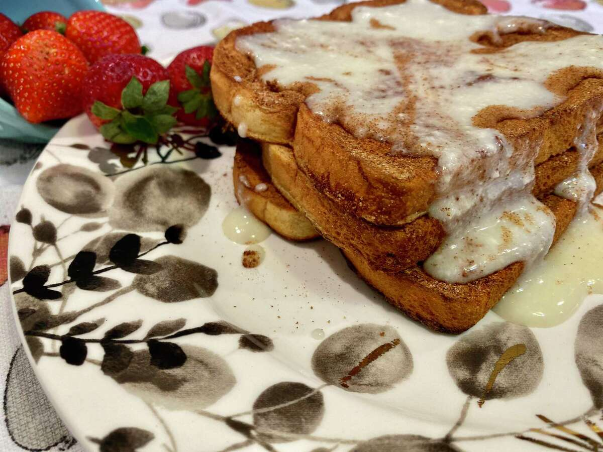 Churro French Toast is a fun spin on a breakfast classic.