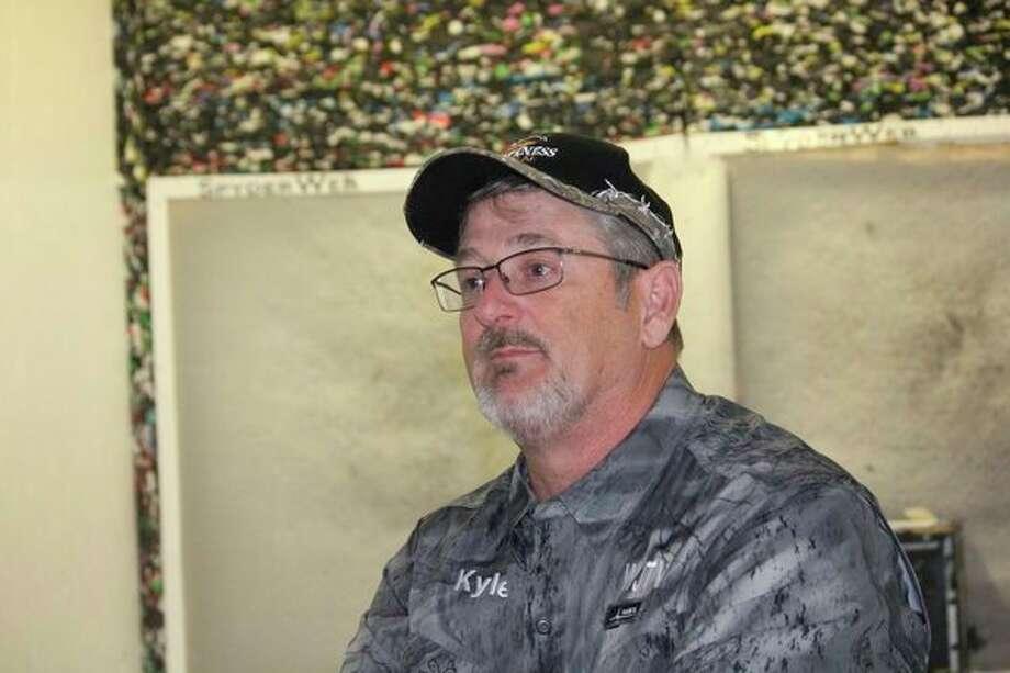 Kyle Randall, ofParis, is host of the Wilderness Journal TV program. (Pioneer file photo)